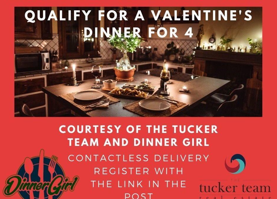 "Our Valentine's Dinner from the ""HART"" Winner"