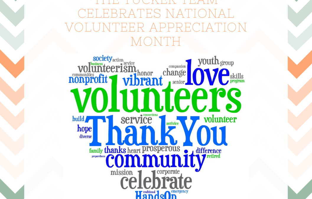 April is National Volunteer Appreciation Month