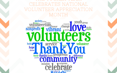 April is National Volunteer Appreciation Month